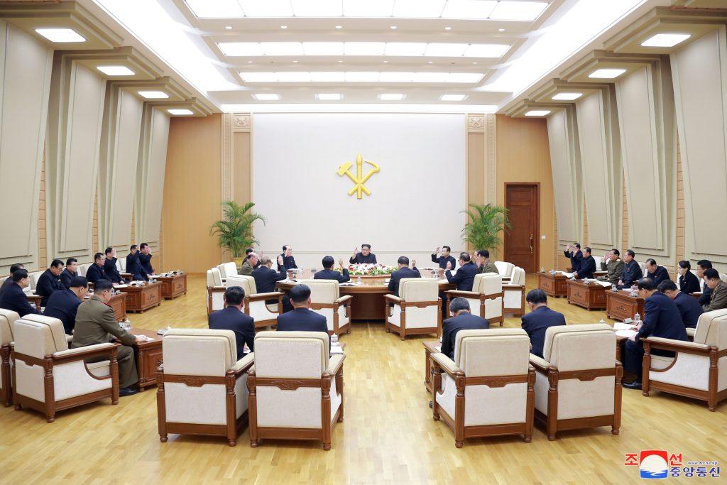 Political bureau meeting held 38 north for Bureau 38 north korea