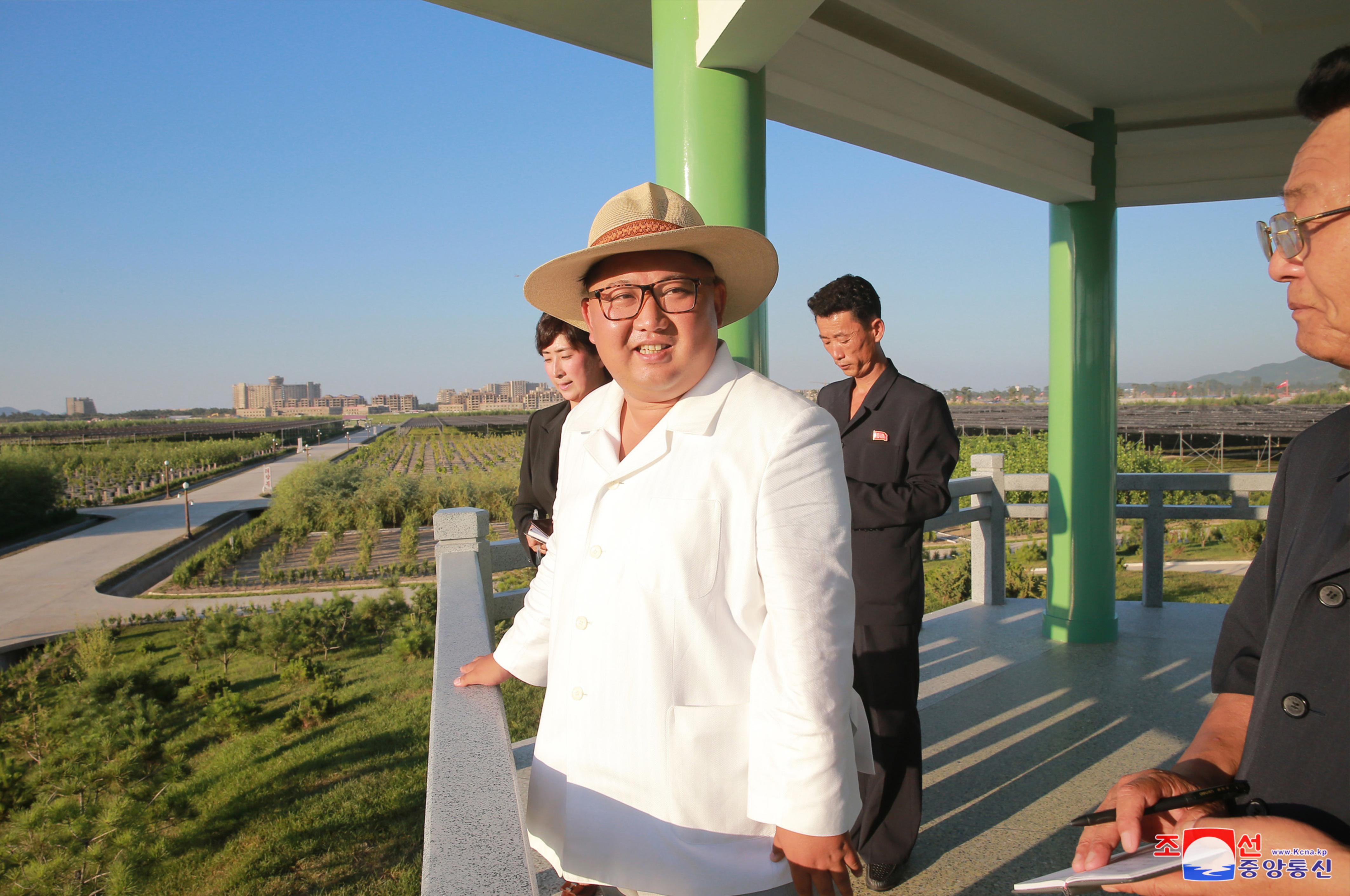 Kim Jong Un Visits Kangwo N Provincial