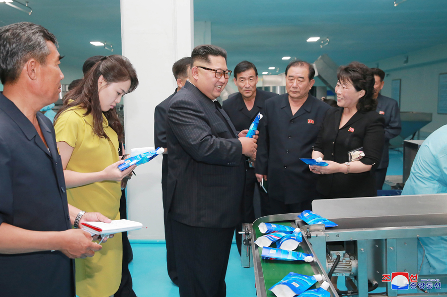Remarkable, kim jong un wife happens